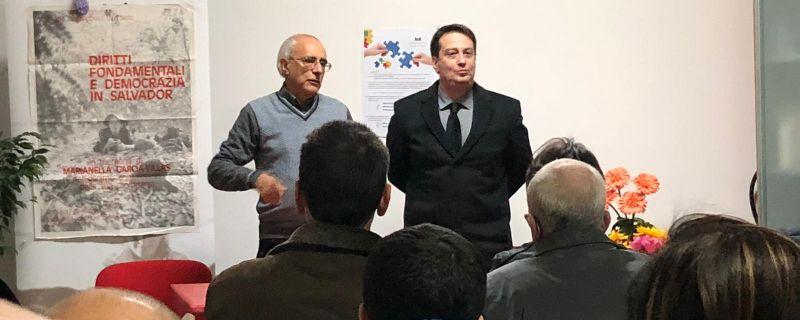 Il Presidente della Reggina Calcio incontra l'Agape